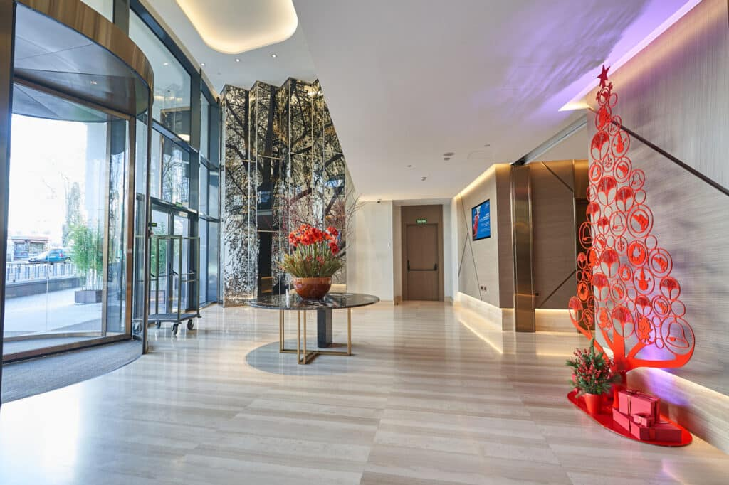 fotografia corporativa madrid hotel vp plaza españa navidad