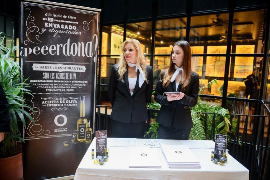 fotografo corporativo Madrid evento aceites oliva