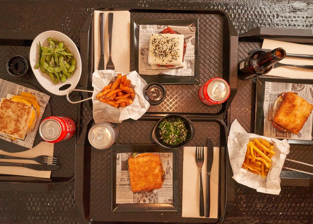 Fotografía Gastronómica Madrid Tokio Buger Sushi para Redes Sociales