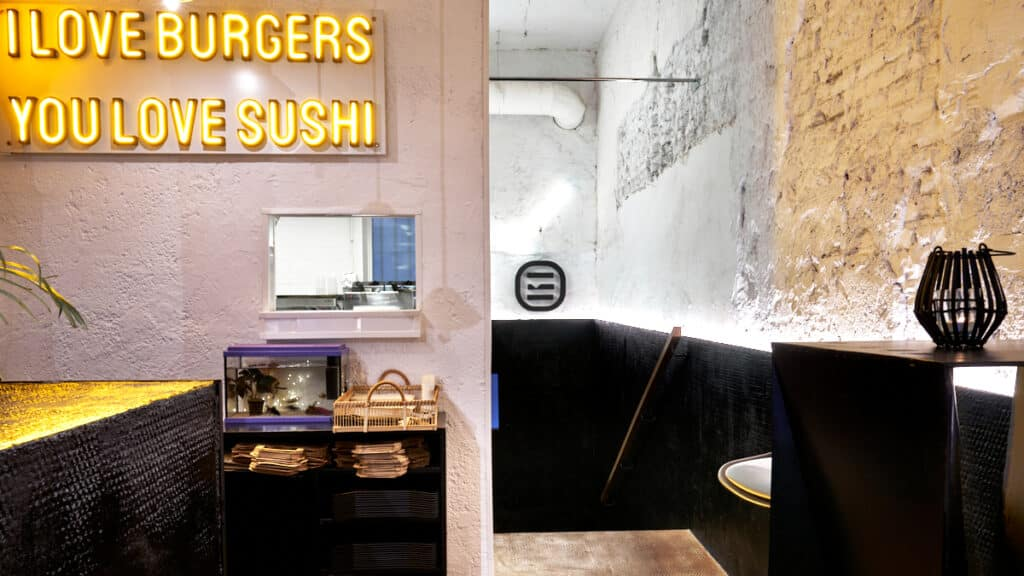 Fotógrafo de Interiores Madrid Tokyo Burger sushi