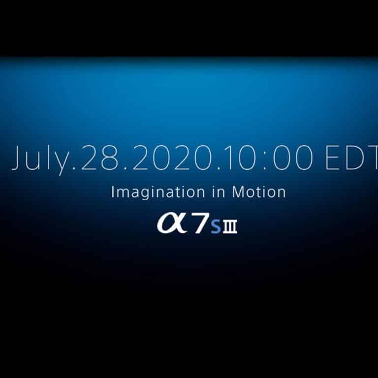 sony A7sIII 2020