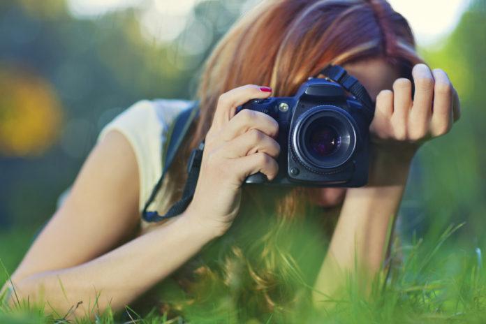 trabajar de fotografo